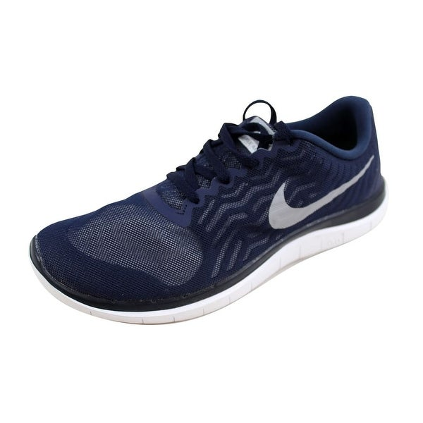 finest selection 1ca69 29800 Nike Men  x27 s Free 4.0 Obsidian Wolf Grey-White 717988-