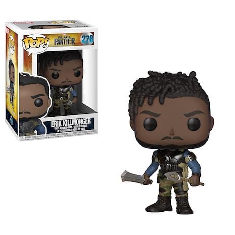 Funko POP Marvel Black Panther Movie-Erik Killmonger Collectible Figure