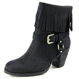 Lauren Ralph Lauren Mara Suede Fringe Ankle Boots