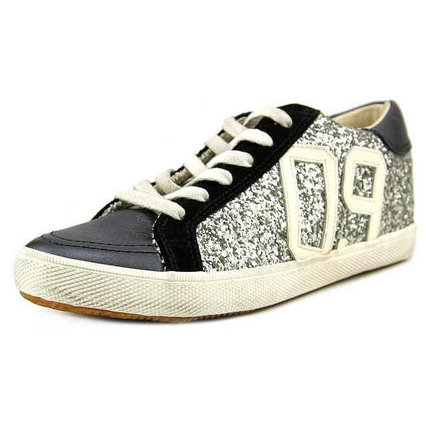 Kim & Zozi Glitter Lo Women Silver Sneakers Shoes