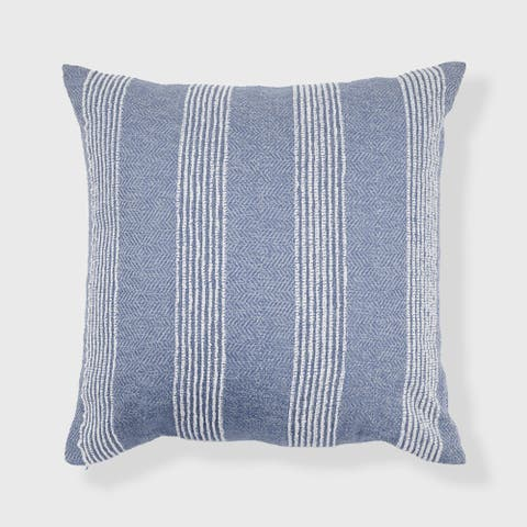 Stripe Textured Oversized Throw Pillow