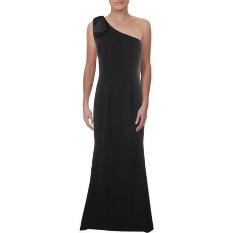 Eliza J Womens Evening Dress Bow Detail One Shoulder
