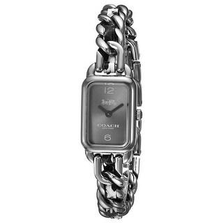 Coach Women's Ludlow 14502722 Black Dial watch