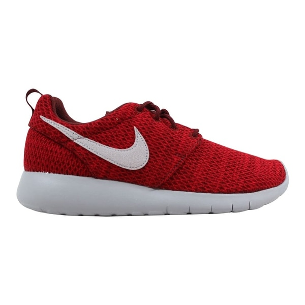 4a5b1df8aecc Shop Nike Roshe One Dark Team Red Wolf Grey 599728-607 Grade-School ...