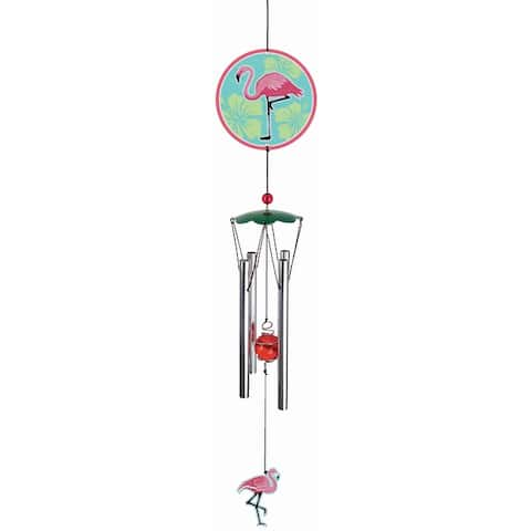 Spoontiques 13555 flamingo wind chime