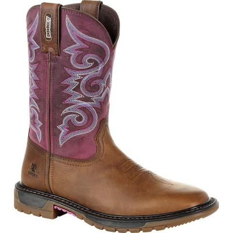 Only Online: Rocky Original Ride FLX: Women's Western Boot, RKW0297