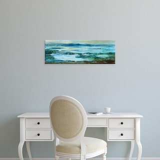 Easy Art Prints Silvia Vassileva's 'Northern Lake' Premium Canvas Art