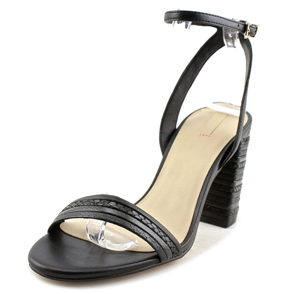 Aldo Izabela Women Open Toe Synthetic Black Sandals