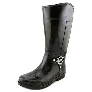 Michael Michael Kors Brea Fulton Round Toe Synthetic Rain Boot