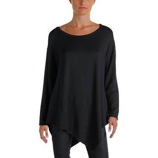 Joie Womens Sweater Asymmetric Long Sleeves