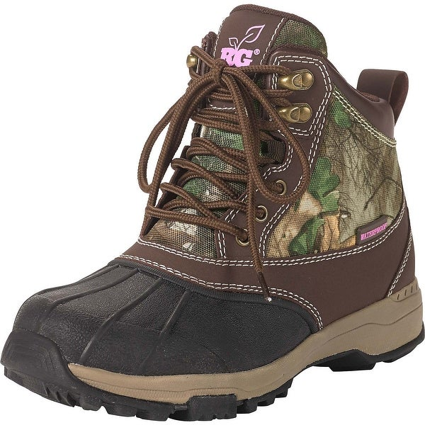 Legendary Whitetails Ladies Denver Workwear Hikers - Dark Brown