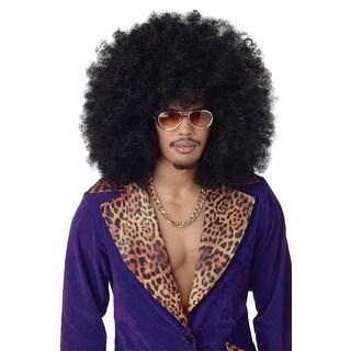 California Costumes Super Jumbo Afro Costume Wig - Black