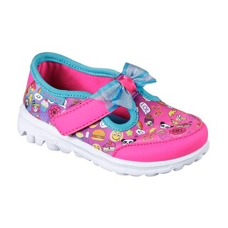 Skechers 81138 MLT Toddler Girl's GOWALK-BOW-MOJI Sneakers