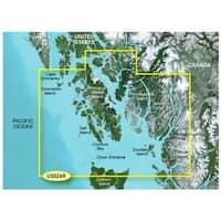 Garmin 010-C0726-00 Bluechart g2 vision VUS025R Anchorage to Juneau (SD Card) - Blue