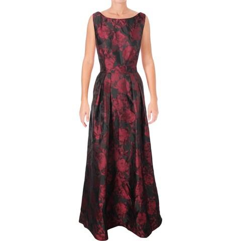 Alex Evenings Womens Evening Dress Special Occasion Full-Length