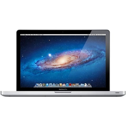 "Apple MacBook Pro MD103LL/A Intel Core i7-3615QM X4 2.3GHz 4GB 500GB 15.4"", Silver (Refurbished)"