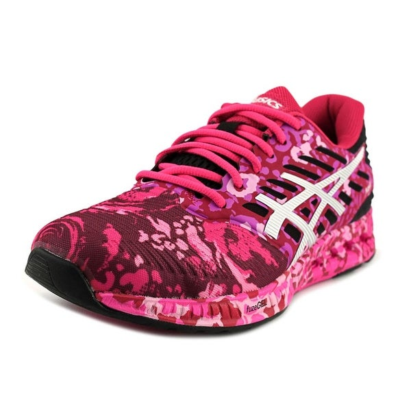Asics FuzeX Women Round Toe Synthetic Pink Running Shoe