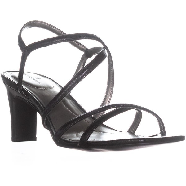 Bandolino Obexx Heeled Strappy Sandals, Black