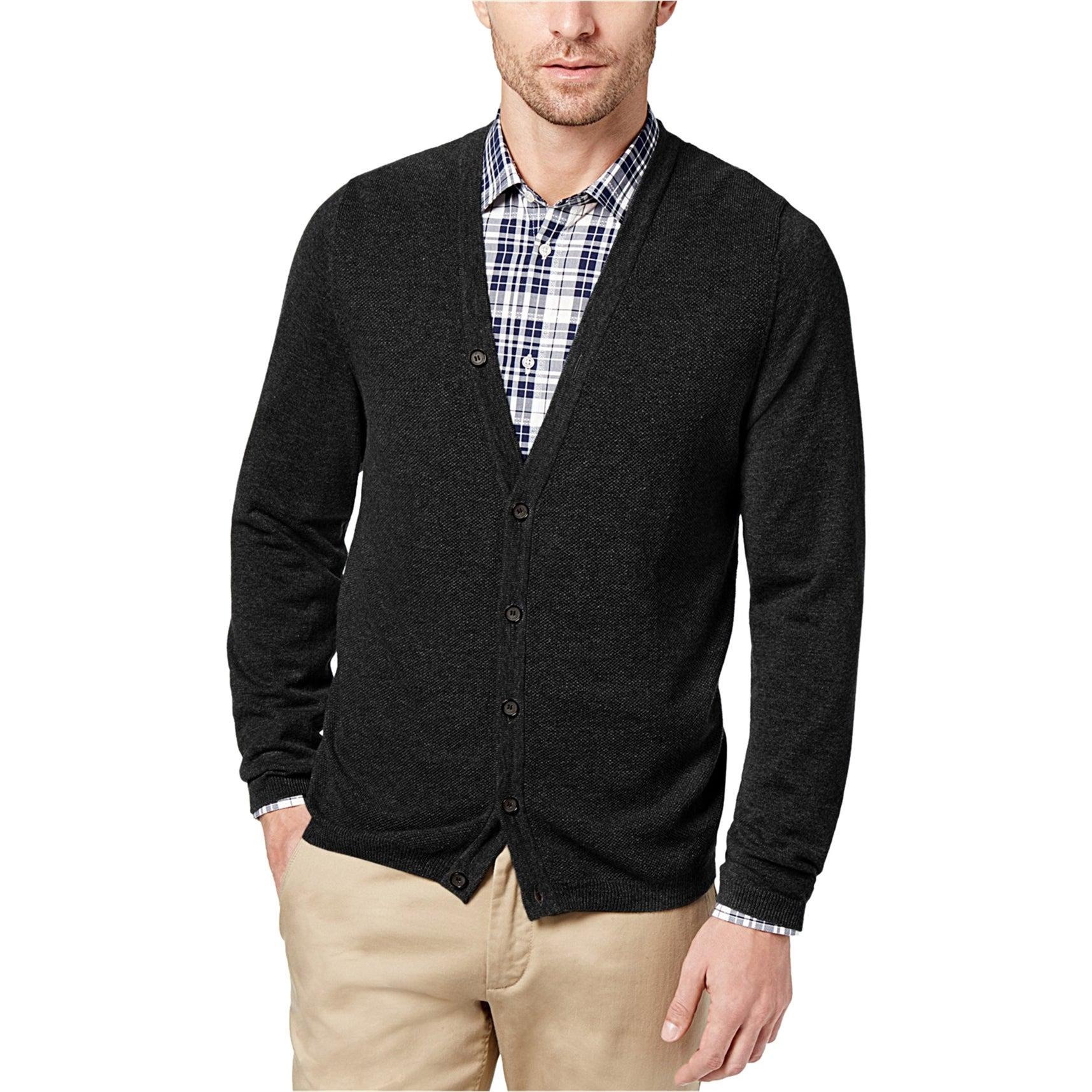 Daniel Hechter Mens LS Cardigan Sweater