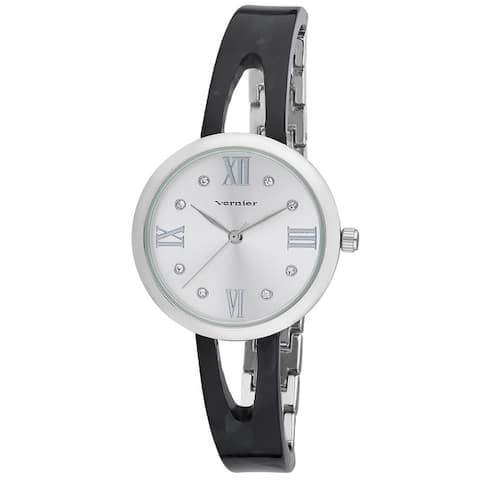 Vernier Womens Resin Half Link Half Bangle Watch