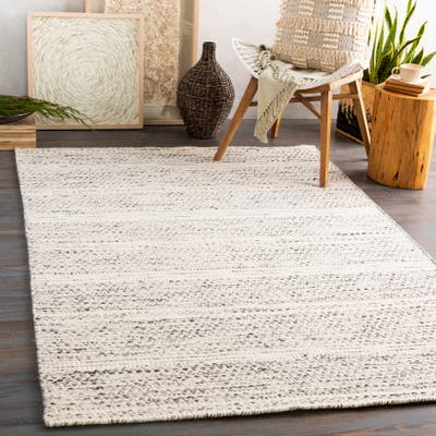 Raeven Handmade Casual Boho Wool Area Rug