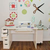 Arrow Ginger Sewing Cabinet - White