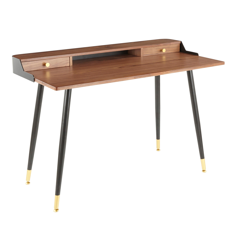 Image of: Shop Black Friday Deals On Carson Carrington Creggan Mid Century Modern Office Desk Overstock 25459475