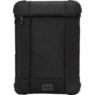 Targus Grid Mil Spec Rugged Vertical Slipcase For 14-Inch Laptops/Chromebooks, Black, Tss848