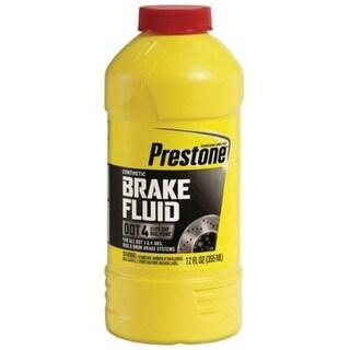 Prestone AS800Y Synthetic Dot 4 Brake Fluid 12 Oz