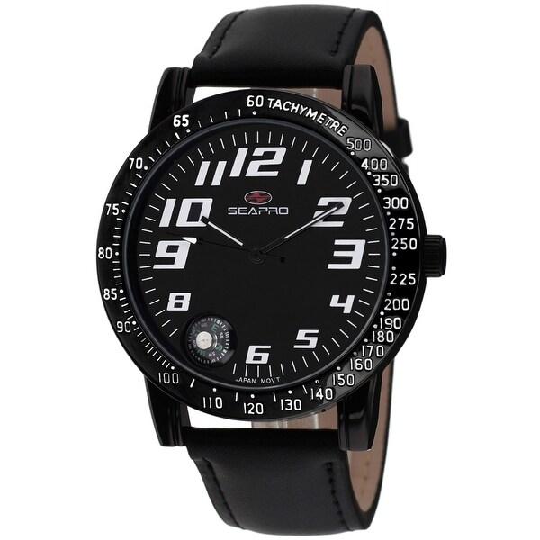 Seapro Men's Raceway Black Dial Watch - SP5112 - One Size. Opens flyout.