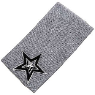 Mad Style Grey Varsity Star Wide Headband
