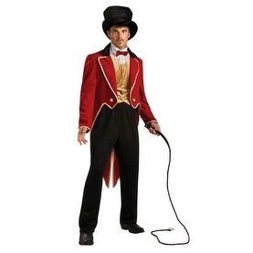 Rubies Ringmaster Circus Lion Tamer Mens Costume 44 - standard - one size