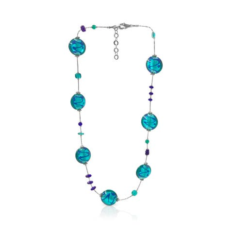 Work of Artisans Sea Breeze Collection - Murano Glass Necklace