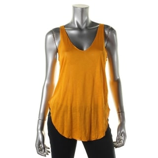 Zara W&B Collection Womens Jersey Scoop Neck Tank Top - M