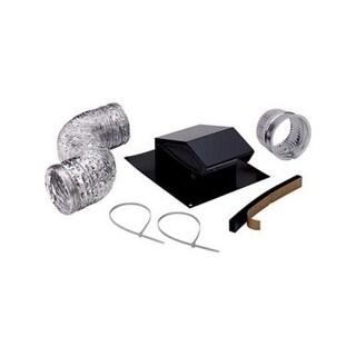 Broan RVK1A Roof Ducting Kit, 8', Black