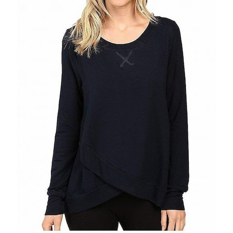 Midnight by Carole Hochman Women's Tops Blue Size Small S Relaxed-Fit