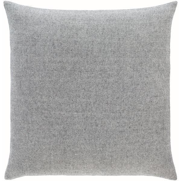 Breman Houndstooth Wool Blend Throw Pillow. Opens flyout.