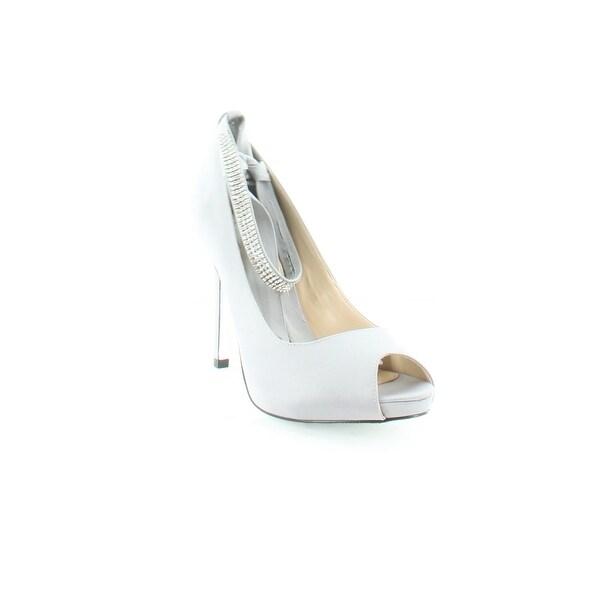 Nina Karen Women's Heels Royal Silver