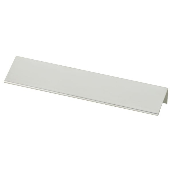 Modern Edge 6-1/4 Inch Center to Center Finger Cabinet Pull - Aluminum