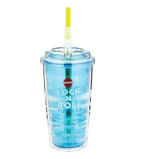 Copco 2510-2139 Lock N Roll Tumbler, Clear, 16 Oz