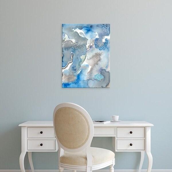 Easy Art Prints Regina Moore's 'Subtle Blues II' Premium Canvas Art
