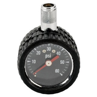 Trades Pro? Dial Tire Gauge With Rubber Boot 0-60 Psi - 836432