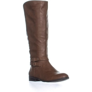Link to Style & Co. Womens Kindell Almond Toe Knee High Riding Boots Similar Items in Women's Shoes