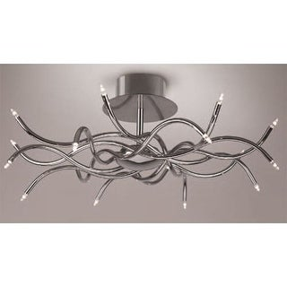 Mantra Lighting 4 Aire 16 Light Semi-Flush Ceiling Fixture
