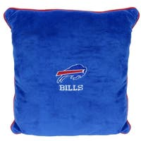 NFL Buffalo Bills Licensed Pillow. Comfortable, Soft-Plush Top-Quality for Pets, Kids, Sofa