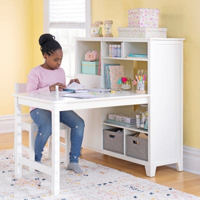 Martha Stewart Kid's Media System with Desk Extension and Chair