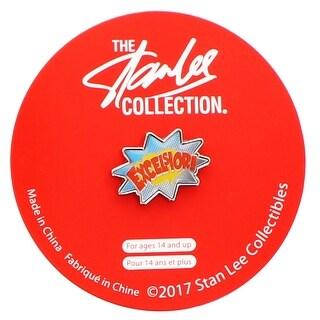 Stan Lee Excelsior Enamel Collector Pin