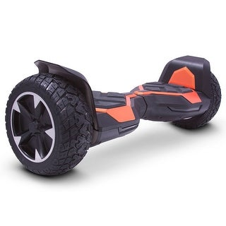 MotoTec Hoverboard Ninja 36v 8.5inch Orange (Bluetooth)