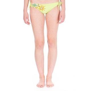 Dippers California Womens Juniors Side Tie Hipster Swim Bottom Separates