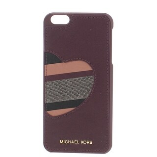 Michael Kors Womens Cell Phone Case Leather Heart